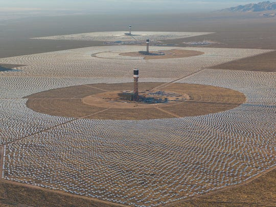 An engineer with the Ivanpah, the largest solar thermal power station, will brief Great Falls students on the plant's operation in the California Mojave Desert southwest of Las Vegas. It deploys mirrors on 173,500 heliostats to focus solar energy on three centralized solar power towers, producing up to 392 megawatts of electricity.