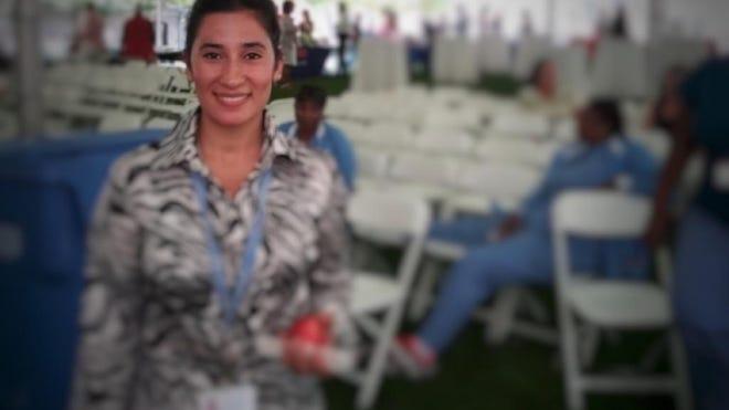 Shagufa Habibi during her internship at Boston Medical Center.