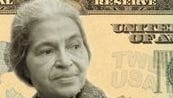 Simulated image of civil-rights pioneer Rosa Parks, as it might appear on a $20 bill. There's an online voting campaign asking people to vote among 15 historic American women, in an effort to place a woman on an American greenback and replace the image of Andrew Jackson on the $20 bill. The campaign is called Women on 20s, or www.womenon20s.org