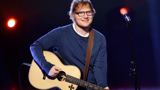 Ed Sheeran is waiting on word from his doctors after injuring his arm.