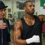 "Sylvester Stallone and Michael B. Jordan star in ""Creed."""