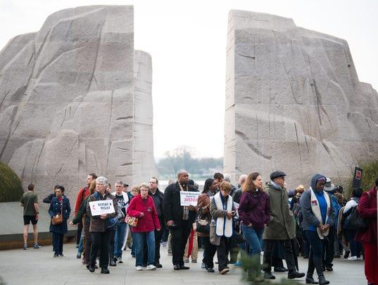 Honoring anniversary of MLK's assassination