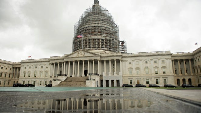 Congress is racing to finish a massive government spending bill before Christmas.