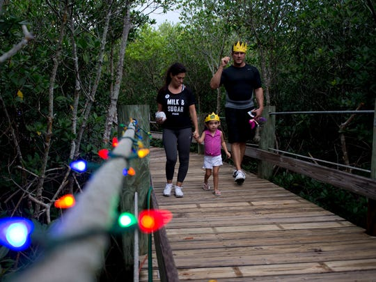 People look forward to visiting the Environmental Learning Center when it is decorated with lights as it was last November during Lagoon Night Lights. Wintergreen Night Lights is Dec. 10 this year.