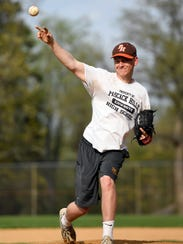 Pascack Hills pitcher Paul Sullivan. Photographed in