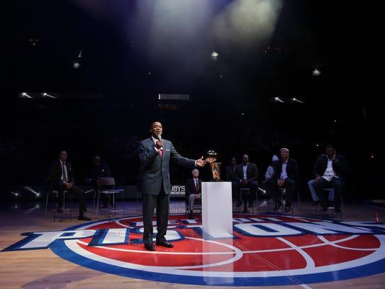 Former Detroit Pistons 'Bad Boy' Isiah Thomas speaks