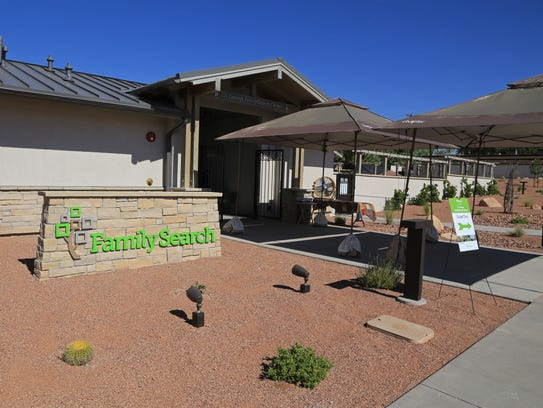 The new St. George FamilySearch Center is located at