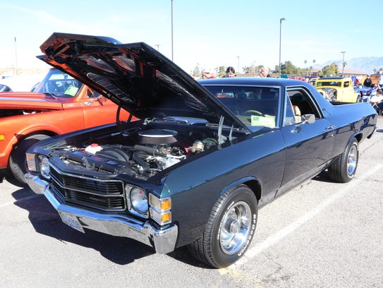 Wayne and Jacqui Coulter's 1971 Chevrolet El Camino
