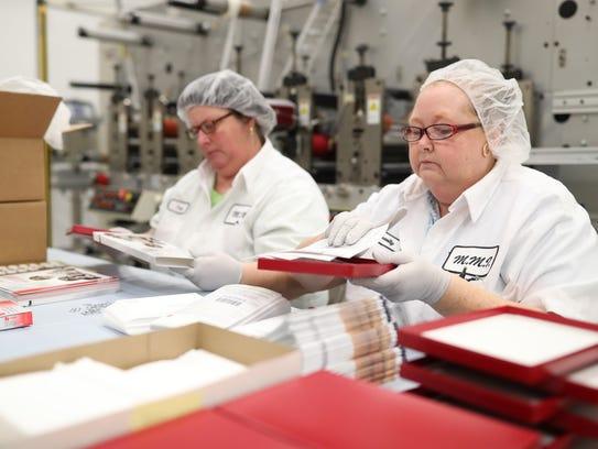 Baycom Diagnostics lab quality control employees Pam
