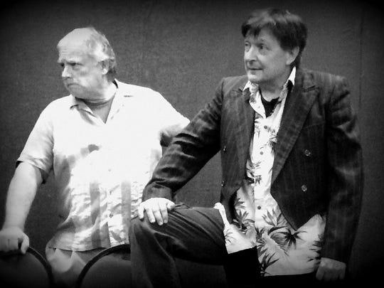 "Ken Bryant and John Repa perform in Lab Theater's ""Twelfth Night"""