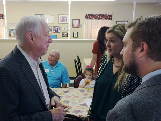 Phil Bredesen, candidate for U.S. Senate and former