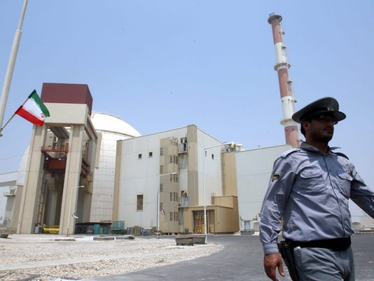 EPA FILE IRAN NUCLEAR DEAL STARTS 20 JANUARY 2014 POL NUCLEAR POLICIES IRA