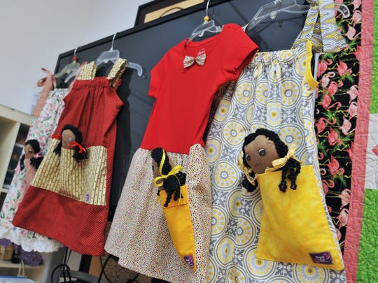 The Brevard Chapter of Dress a Girl have created dresses,