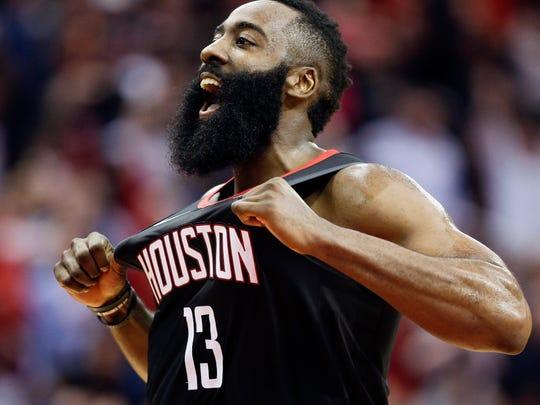 James Harden, jugador de los Rockets de Houston.