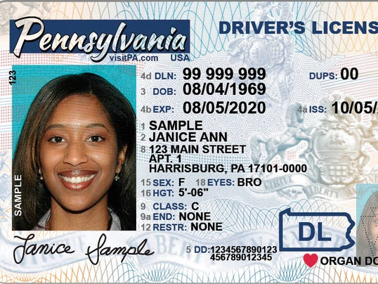 Check Out The New Pa Driver S Licenses