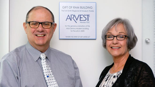 RAM's executive director, Lou Meluso, and development director, Julie Moncrief.