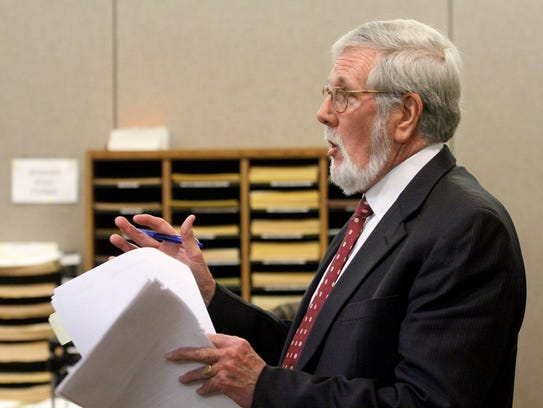 Liam McAtasney's attorney Charles Moriarty cross examines