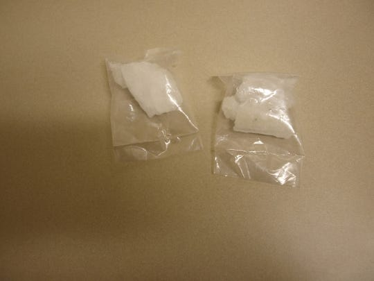 Meth seized by Springfield police as part of a recent