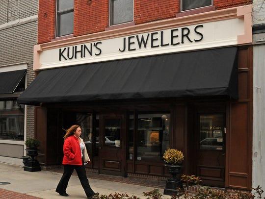 Kuhn's Jewelers in the Downtown Plaza in Salisbury.
