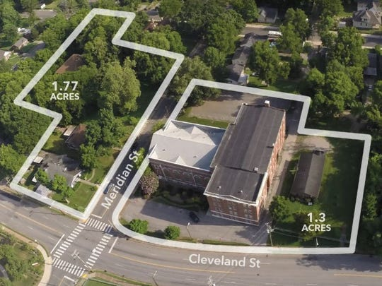 The property purchased sits on two corners at Cleveland