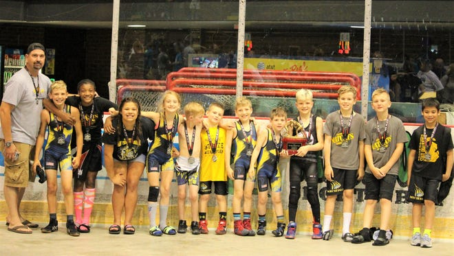 The Michigan Matcats took second in the NUWAY Blue Water National Duals in Port Huron.