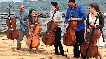 Led by Gideon Freudmann, musicians participated in a Cello Project as a weeklong educational residency and performance on the island of Kauai. The Portland Cello project is scheduled to perform Jan. 22, in Carrizozo.