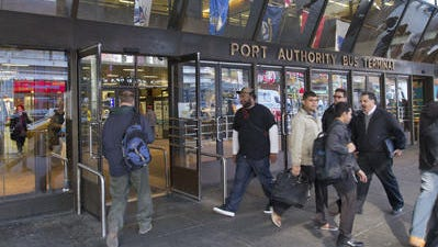 The Port Authority Bus Terminal in Manhattan, shown in this file photo, is set to be replaced, which would benefit Rockland commuters headed to Manhattan on Coach USA buses.