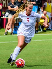 Sophomore midfielder Elin Jensen and the Florida State soccer team claimed its fourth consecutive ACC Tournament title this fall.