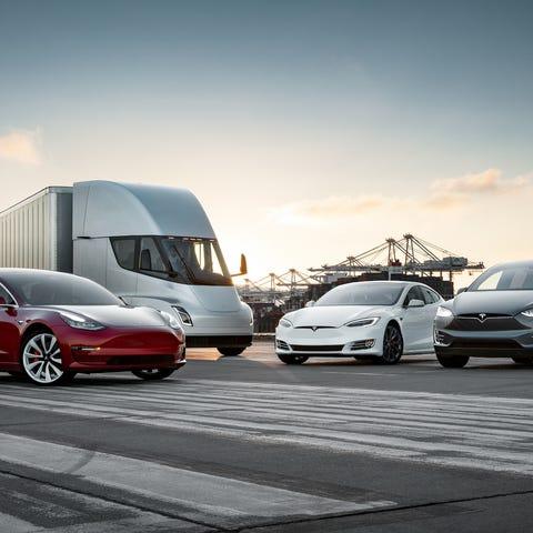 Tesla vehicles, including the Model 3, Tesla...