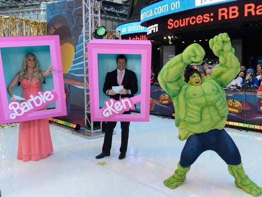 Good Morning America Stories Today : Heidi klum had party goers seeing double and triple with