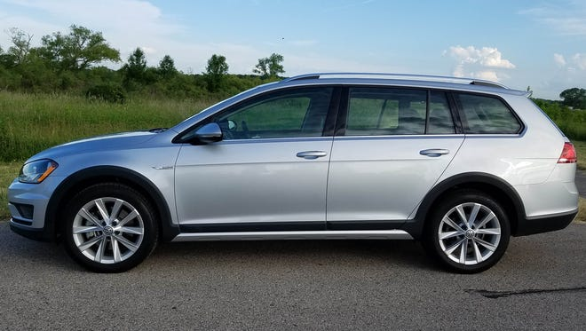 The Volkswagen Alltrack is a wagon that is fun to drive.