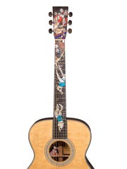 "Grit Laskin designed this Martin ""Night Dive"" guitar from 2004."