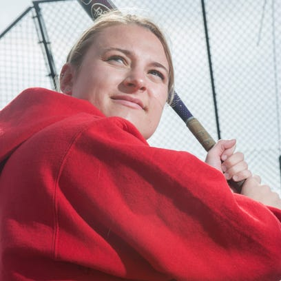 Washington Township's Jess Hughes put up monster numbers at the plate last spring, batting .630 with 58 hits and 24 RBIs.