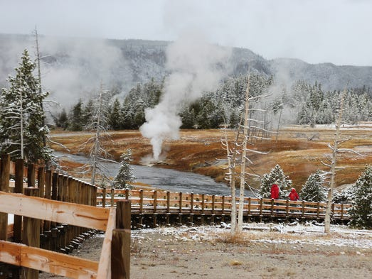 yellowstone national park asian singles Asian woman steamed by geyser in yellowstone junior pro loading  warrants issued for men who walked across yellowstone national park hot spring.