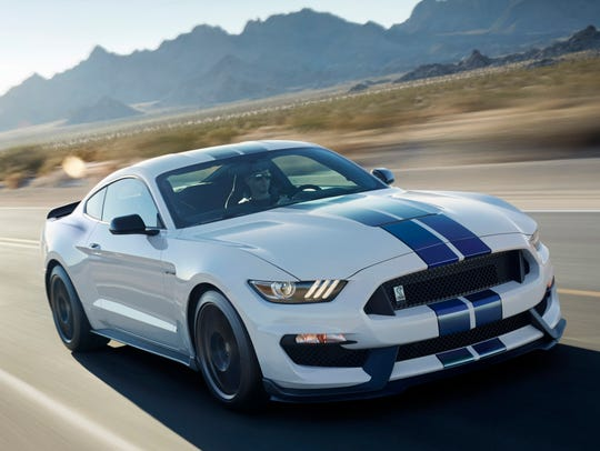The 2017 Ford Mustang, which ranks No. 12 in the Made