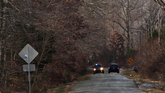 Delaware State Police closed Gum Bush Road from Deer Run Road to Walker School Road during a death investigation Tuesday.