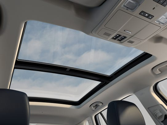 The power sunroof is among the great features offered