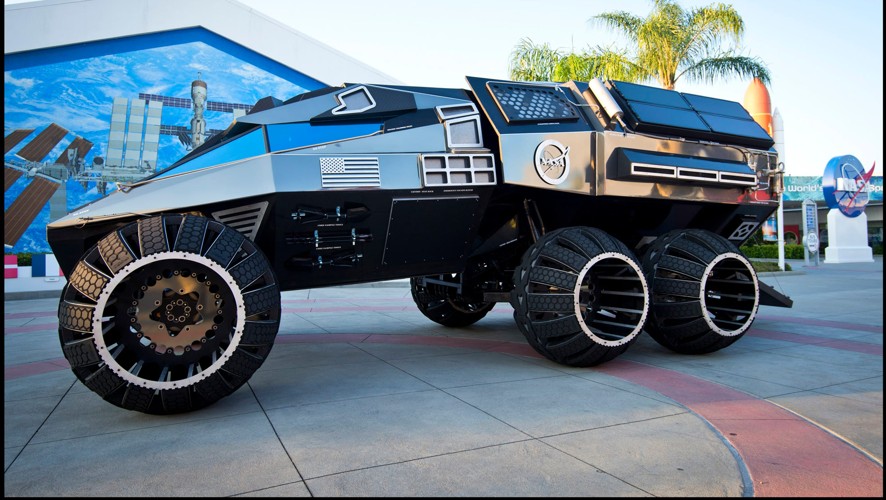 Mars Rover Concept Vehicle Tours The Usa