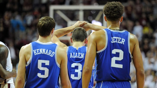 Duke has lost three of its five games since coach Mike Krzyzewski left the team to have back surgery.
