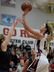 Pulaski's Jayde Doell, shown in a game against Bay