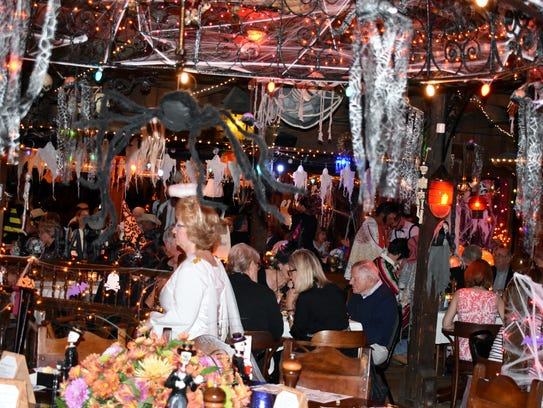 The Ocean Grill transforms for Halloween every year