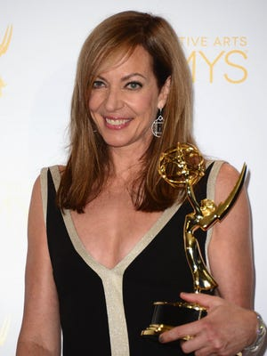 Janney earned her fifth Emmy for her guest work on Showtime's 'Masters of Sex.' She could add a sixth one next week in the comedic supporting actress field for CBS' 'Mom.'