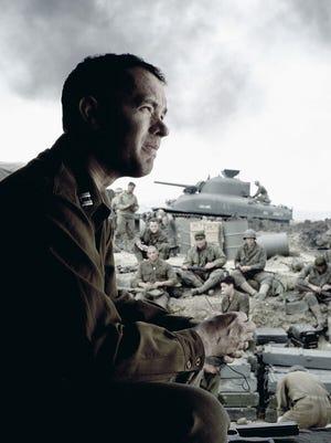"Tom Hanks stars as Captain Miller in a scene from ""Saving Private Ryan"" (1998)."