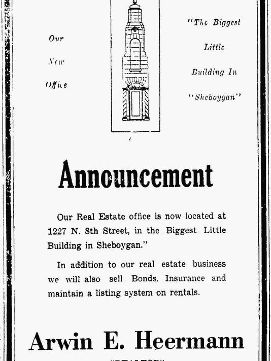 #3 Arwin Heermann building 1227 North 8th Street, Sheboygan