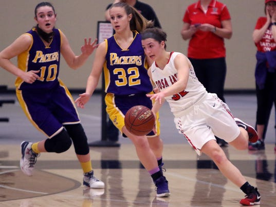 Wauwatosa East Girls Basketball vs Cudahy