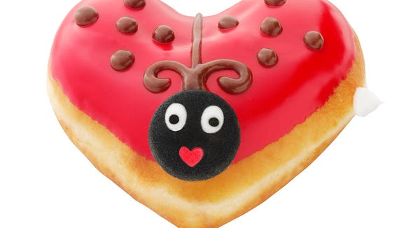 Cute as a button? It's the Luv Bug, available through Feb. 15 while supplies last.