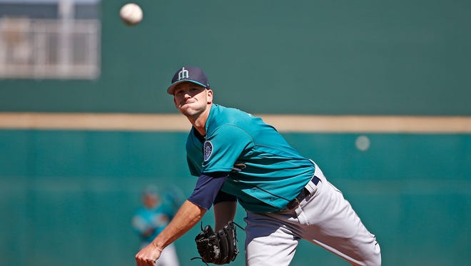 Mariners pitcher Drew Smyly didn't feel right during a between-starts bullpen workout Tuesday.