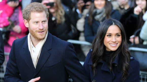 Meghan Markle joined her fiancé, Prince Harry, for