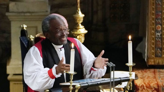 The Rev. Bishop Michael Curry.