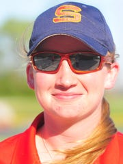 Seton Catholic softball assistant coach Kate Waters